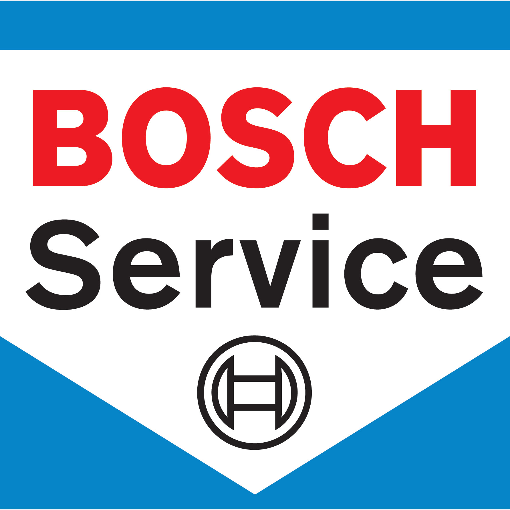We choose Bosch automotive parts