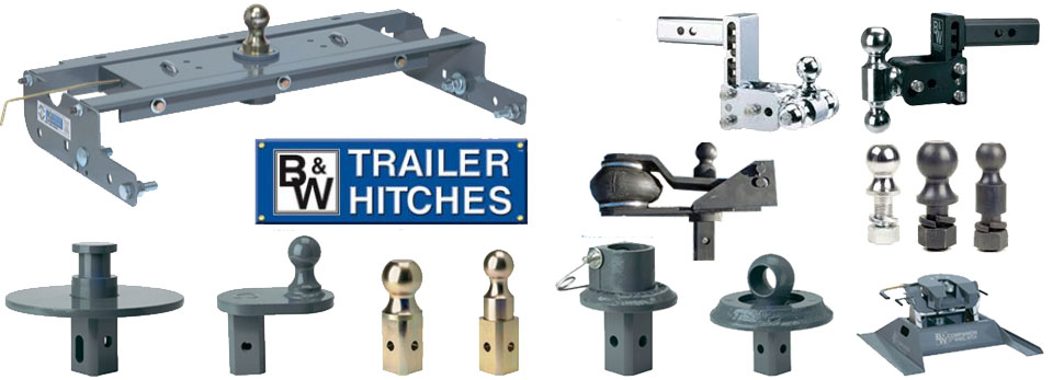 We install B&W service hitches